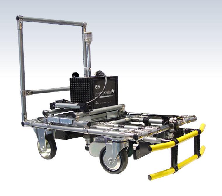 フリークル搭載の無人搬送車(AGV)