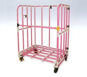 段ボール台車(折り畳み式)