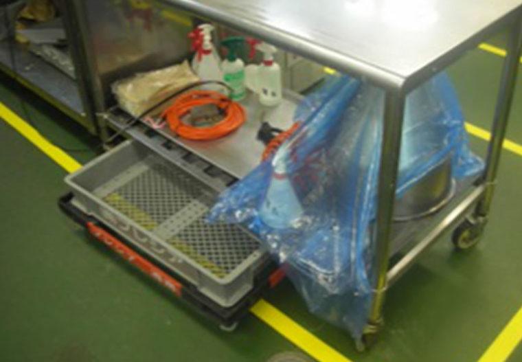 大きすぎる作業台を小型化・機能的に改善して2Sが向上