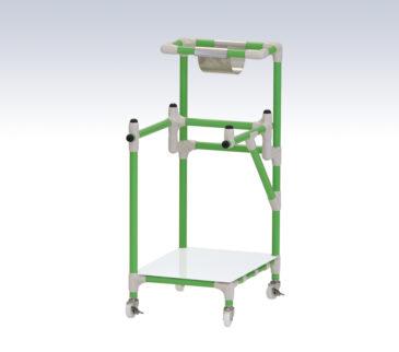 ホルダー付ゴミカート取付例(GCSH-45)