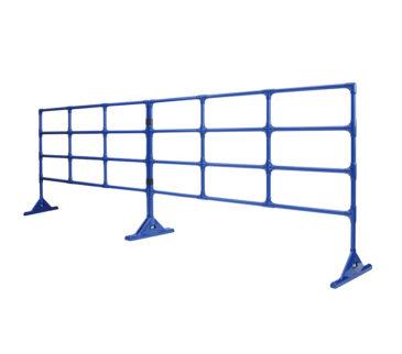 複数台のフェンスを連結できます