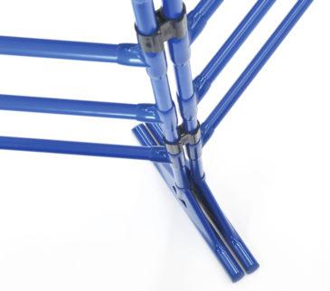 フリー:脚部は自由な角度で設置することができます